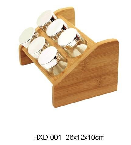 wood spice rack