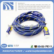 2160P Стандартный кабель HDMI 2.0 19pin Поддержка 1080p 3D и 4K * 2K 1m 2m 3m 5m 10m 20m
