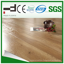 12mm V-Groove U Mould Living Room Use Hand-Scraped Laminated Flooring