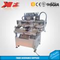 Вертикальный плоский вакуумный шелковой ширмы печатная машина для продажи