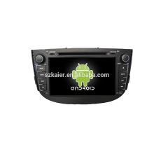 Quad core! DVD de coche con enlace de espejo / DVR / TPMS / OBD2 para pantalla táctil de 8 pulgadas de cuatro núcleos Sistema Android 4.4 LIFAN X60