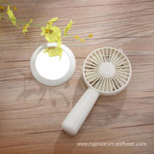 Mini Handheld Personal Portable Cooling Fan with Mirror