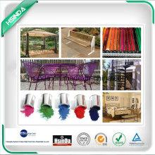 Peinture en meuble métallique Revêtements en poudre antioxydants solides Thermo