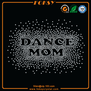 DANCE MOM Hotfix Rhinestone Transfers