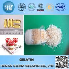 Горячий продавать порошкообразного пищевого желатина 220 цветеня/ желатиновые гранулы с низкой ценой