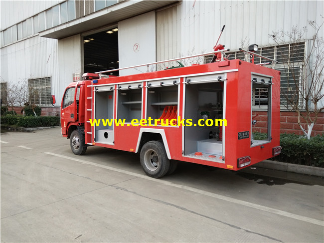 6000L Fire Water Vehicles