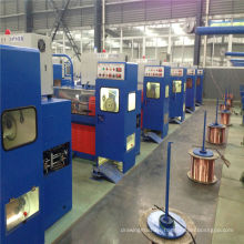 11DST(0.8-2.76) cable making equipment copper intermediate wire drawing machine with ennealing(used wire drawing machine)