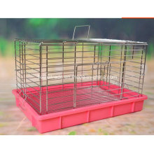 Electroplate Stainless Steel Rabbit Cage