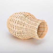 Percell Vase Shaped Large Rattan Bird Nest