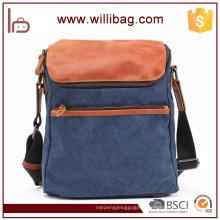 Vente chaude De Mode Rétro Sling Bag Pour Hommes Messenger Sac Toile