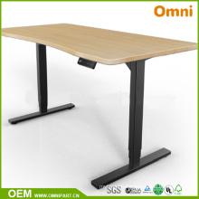 Single Person Beautiful Electric Height Adjustable Desk