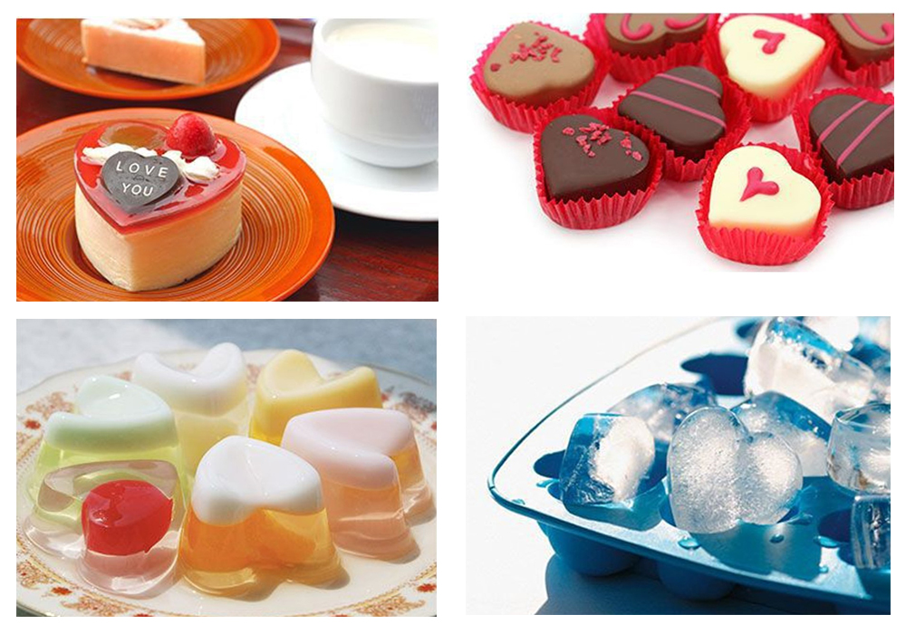 Heart-Shaped Silicone Mousse Cake Mold (15)