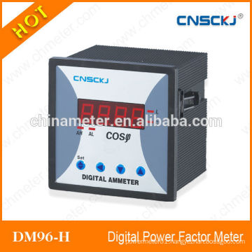 DM96-3H Three phase Digital display power factor meter