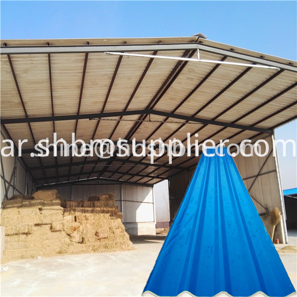 Anti-corrosion Magnesium Oxide Roofing Sheet