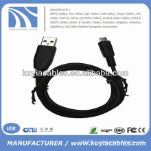 USB 2.0 mâle à mini câble 5 broches Câble de données pour MP3 MP4