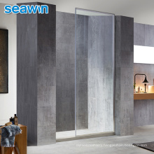 Seawin Hotel Frameless Single Frosted Glass Fix Panel Shower Screen Doors