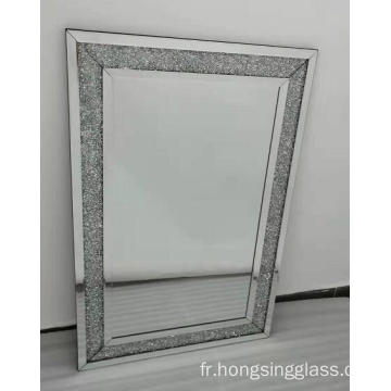 Miroir rectangulaire en cristal transparent Clear Mirror MDF