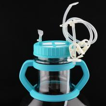 Erlenmeyer de alta eficiência de 5 litros com tubo