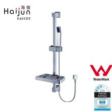 Haijun Unique Products Watermark Single Tier Hotel Bathroom Shower Rack