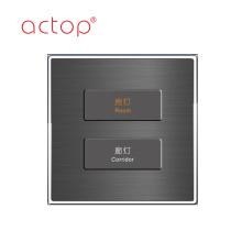 Interrupteur à bouton poussoir ACTOP Prise d'interrupteurs en plastique