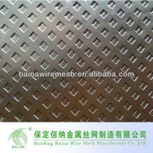 Cerca de metal perforada de acero inoxidable
