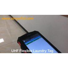 Etiqueta de lavandería UHF RFID PPS / Silicon / Nylon para toalla