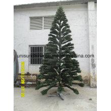 Árbol de Navidad realista en puntas de PE con luz Incandescente (gama completa de tamaños)