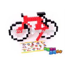 Bloques de construcción de juguete preescolar para niños