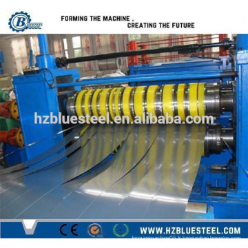 Hot Selling High Speed ​​Slitting and Rewinding Line pour la feuille de bobine métallique, la bobine Sheet Sliver Length Cutting Machine