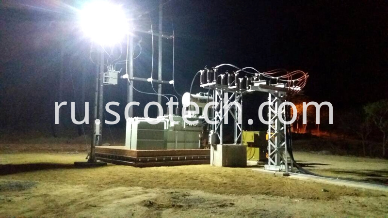 10mva 33kv transformer installation