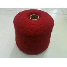 CVC a recyclé la laine polaire 65 le coton 35 le fil de tissu de polyester