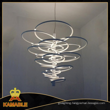 Modern ABS Carbon Steel Pendant Indoor Light (2124S)