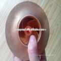OEM perdu cire coulée pompe à eau bronze turbine