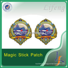 Promotional 100% Embroidery Patch, Iron on Back Patches