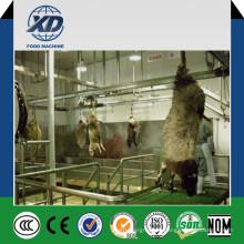 Ligne Halal de chèvre et de mouton et machine d'abattage