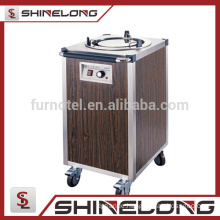 K296 Stainless Steel Electric 1 Holder Cart Plate Warmer