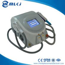 2 режима 1064nm и 532nm Q переключатель ND yag Лазерная машина удаления татуировки IPL