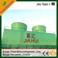 torre de enfriamiento industrial de la resistencia de alta temperatura para el material de frp / grp industria química usada enfriador de agua
