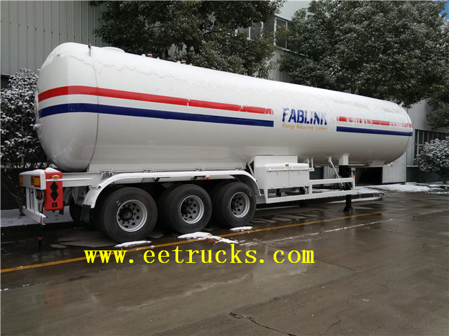 LPG Trailer Transport Tanks