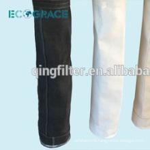 1 meter length cloth dust collection glass fiber filtration sock
