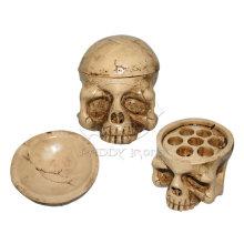 Damar mini crâne Style tatouage encre porte-gobelet avec couvercle