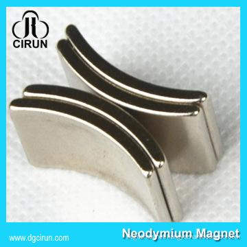 Custom Arc Shape Neodymium Magnet Motor Generator/Magnet Neodymium