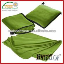 Vente en gros 100% polyester Couverture en molleton linière avec fermeture à glissière