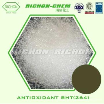 RICHON Rubber Chemical Antioxidant Nr de CAS: 128-37-0 264 2,6-Di-terbutil-4-metilfenol Antioxidante BHT (264)