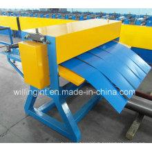 Glasierte Stahlaluminiumspulen-einfache Mini-Schneidemaschinen-Linie