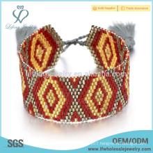 Fashion personalised seed bead bracelet,bohemian bracelets for women