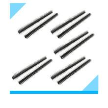 Cabeçalhos de pinos de fileira dupla de 40 pinos 2,54 mm