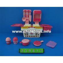 Conjunto de combinación de plástico, juego de té juguete, juego de cocina de juguete (259812`)