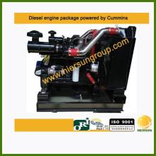 Accionado por el paquete industrial diesel 6CTAA8.3-C215 del motor de Cummins 160kw / 215hp