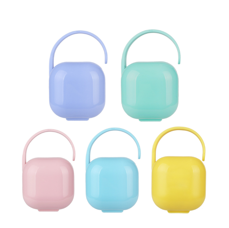 Plastic Pacifier Case Container